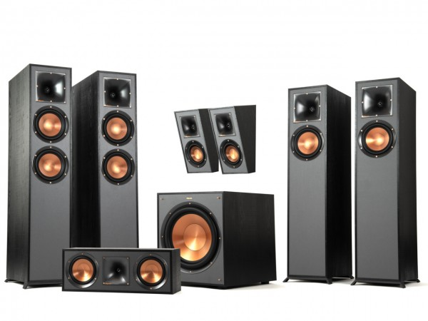 Klipsch R-625FA 5 1 4 Dolby Atmos Home Theater System