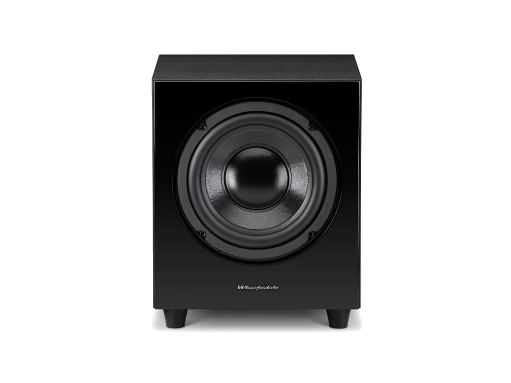 wharfedale wh d8 schwarz subwoofer lautsprecher heim hifi akustik projekt. Black Bedroom Furniture Sets. Home Design Ideas