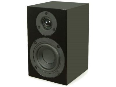 Pro-Ject Speaker Box 4 Schwarz (Paarpreis) (discontinued)