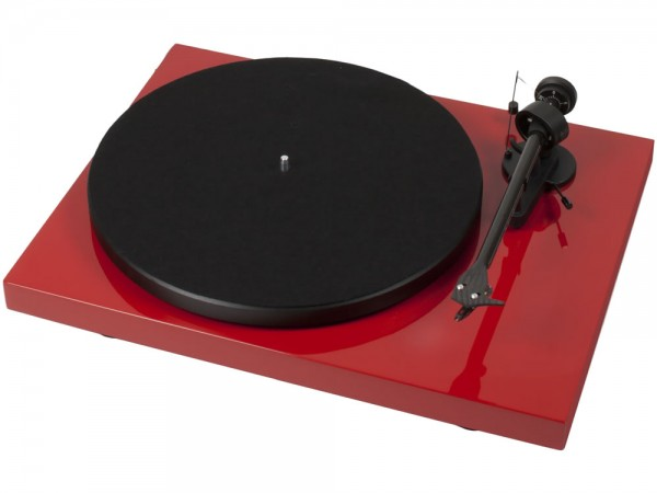 Pro-Ject Debut Carbon Phono USB (DC) Rot