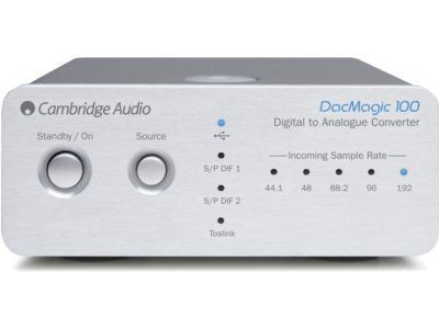 Cambridge Audio DacMagic 100 Silber