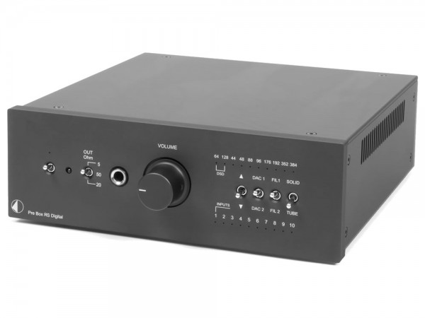 Pro-Ject Pre Box RS Digital Schwarz
