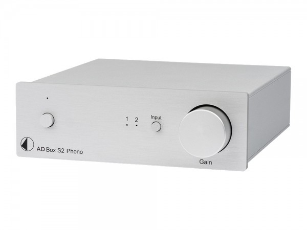 Pro-Ject AD Box S2 Phono Silber